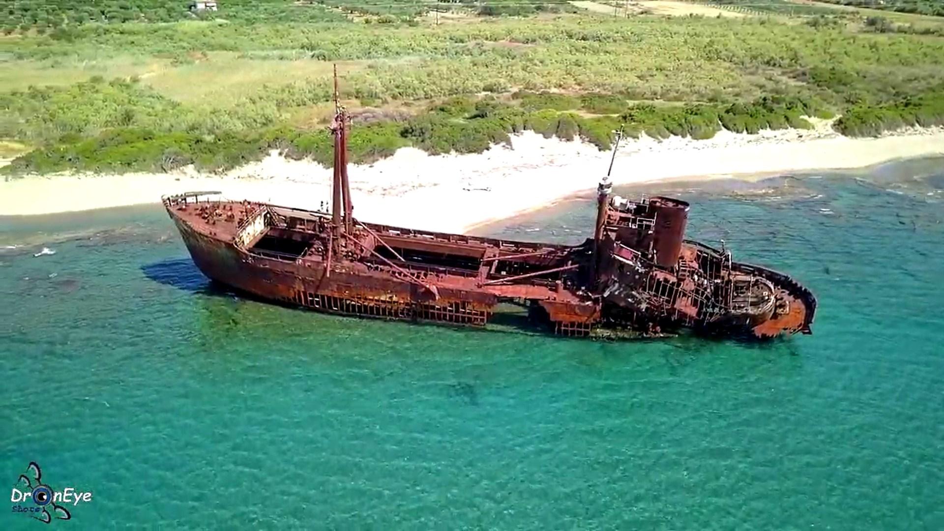 Ναυάγιο «Δημήτριος»: Το άγνωστο σε πολλούς αλλά επιβλητικό ναυάγιο στο Γύθειο. (video)