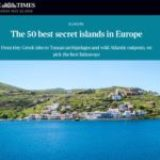 The TIMES: Kea in the 50 best islands in Europe