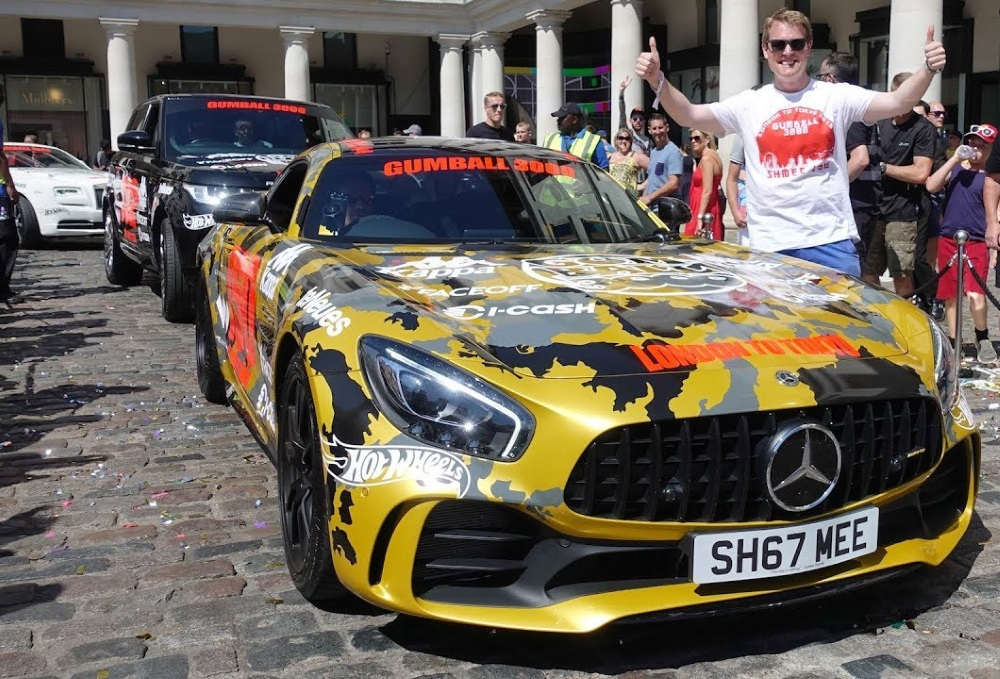 supercars στον φιλανθρωπικό αγώνα Gumball 3000