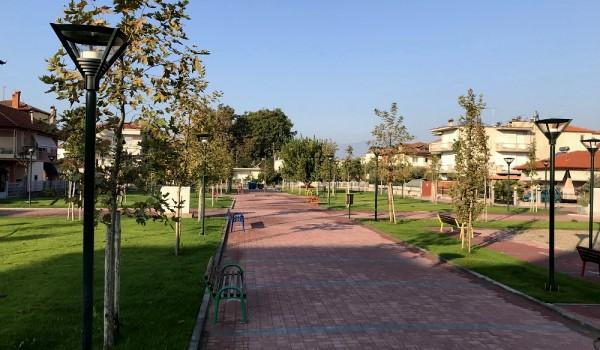 Ανάπλαση χώρων Πρασίνου στο Δήμο Κατερίνης