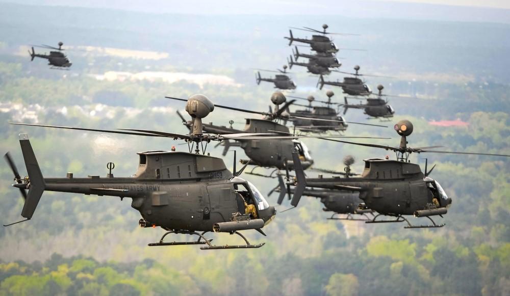 Ελικόπτερα kiowa warriors αστακοί