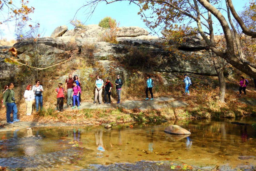 Οι επισκέπτες απόλαυσαν τη διαδρομή κατά μήκος του ποταμού Κρουσοβίτη