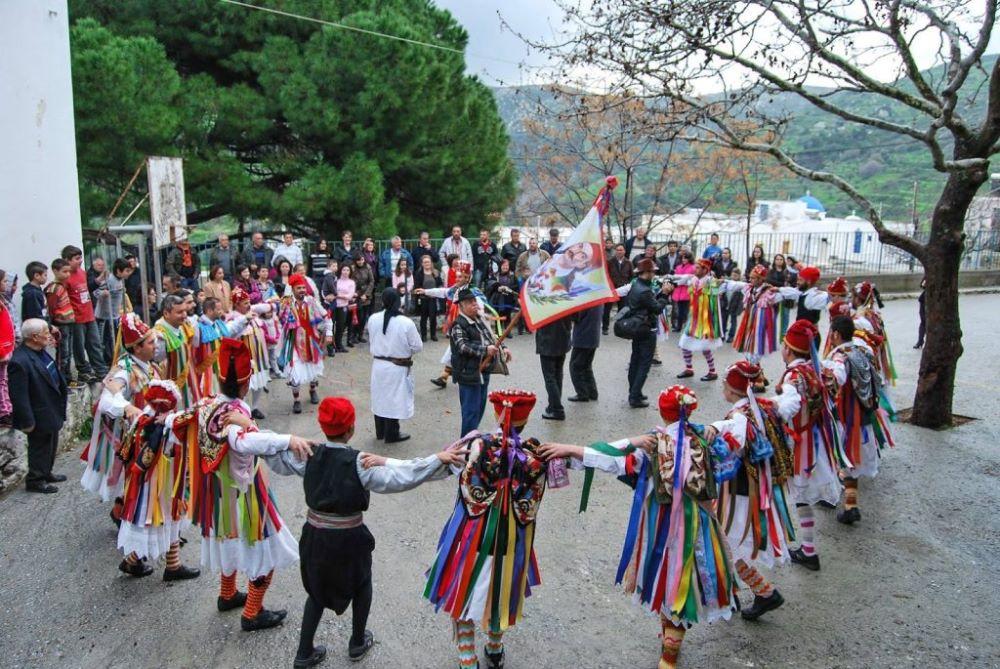 Κορδελάδες Νάξου στο Θαλασσινό Καρναβάλι Χαλκίδας