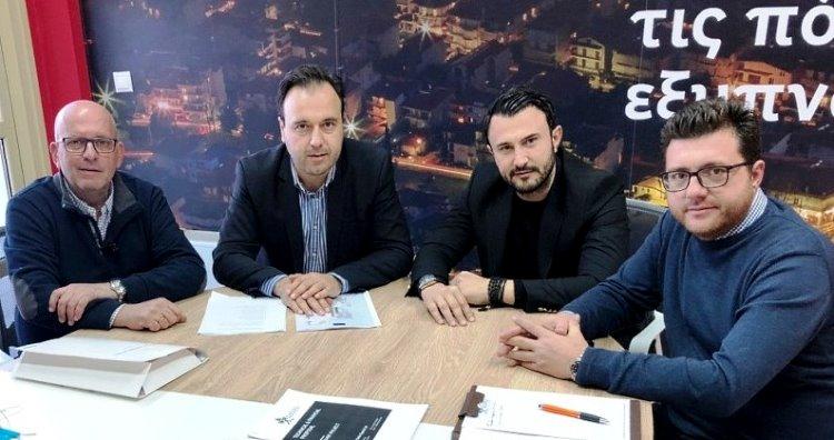 Λεωφορεία χωρίς οδηγό και σταθμοί ηλεκτρικής φόρτισης Δήμος Τρικκαίων συνάντηση