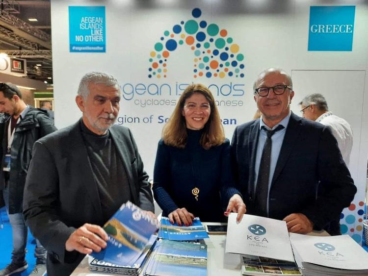 Ο Δήμος Κέας στο Μιλάνο BIT 2020 Ελληνικό περίπτερο