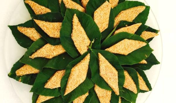 Παστέλι σε λεμονόφυλλα (Παραδοσιακή Συνταγή από την Τήνο)