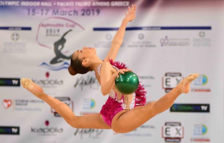 Aphrodite Cup 2020 στο Δήμο Παλαιού Φαλήρου αθλήτρια