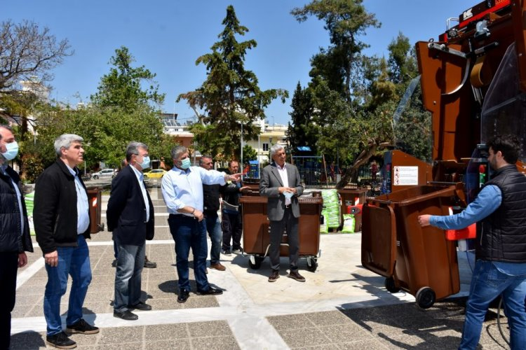 Αναβάθμιση Εξοπλισμού για τα Βιοαπόβλητα στον Δήμο Μοσχάτου-Ταύρου