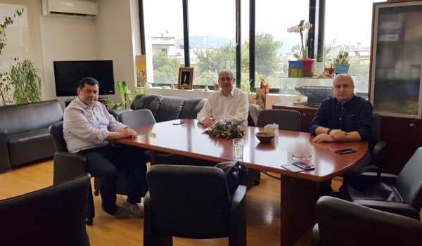 Ενώνουν δυνάμεις οι Δήμαρχοι Αμαρουσίου, Ηρακλείου και Λυκόβρυσης-Πεύκης