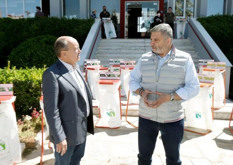 Κάδοι εσωτερικής ανακύκλωσης για τον Δήμο Μαραθώνος