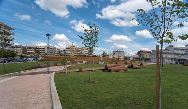 Παραδόθηκε το Πάρκο Νικόπολης του Δήμου Παύλου Μελά