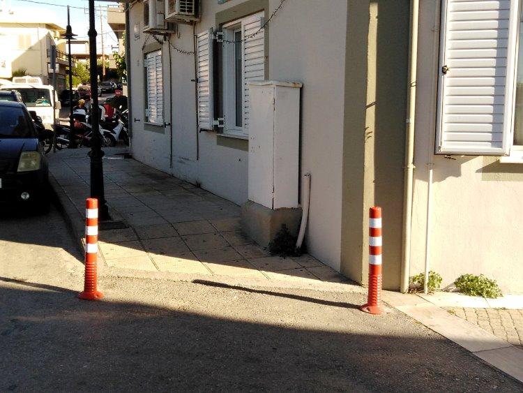 Παρεμβάσεις για πεζούς και ΑμεΑ στο Δήμο Μαλεβιζίου 2