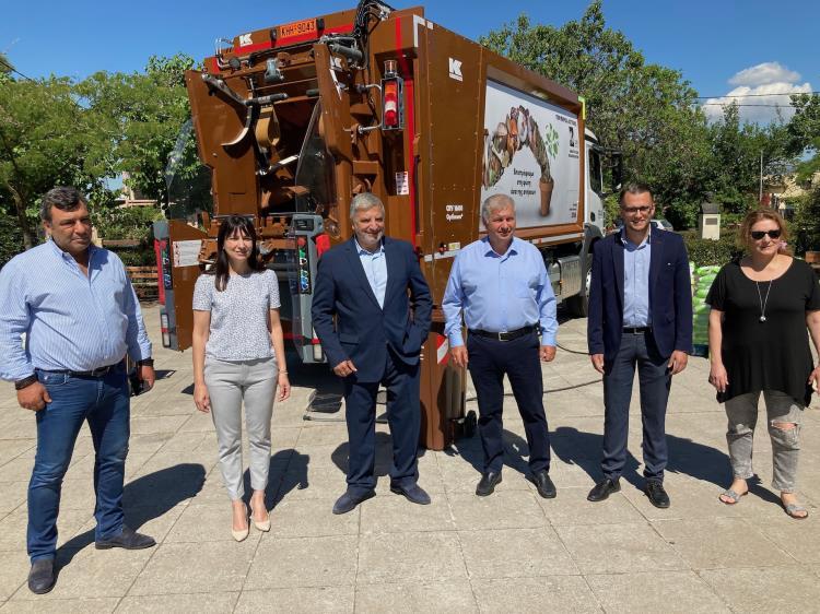 80 κάδοι συλλογής βιοαποβλήτων στο Δήμο Πεντέλης
