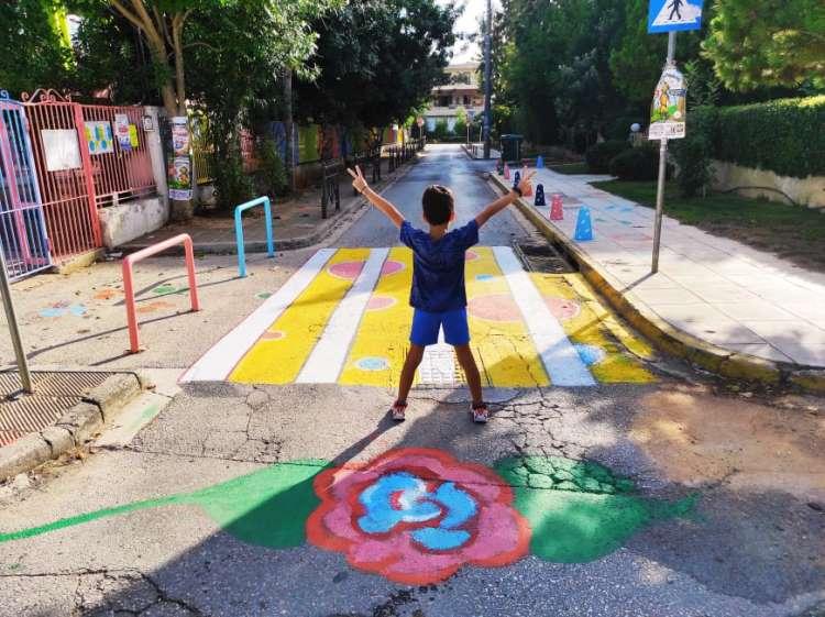 Διαβάσεις πεζών από μαθητές για μαθητές στο Δήμο Χαλανδρίου