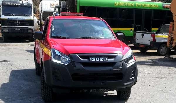 Νέο Πυροσβεστικό Όχημα για τον Δήμο Πετρούπολης