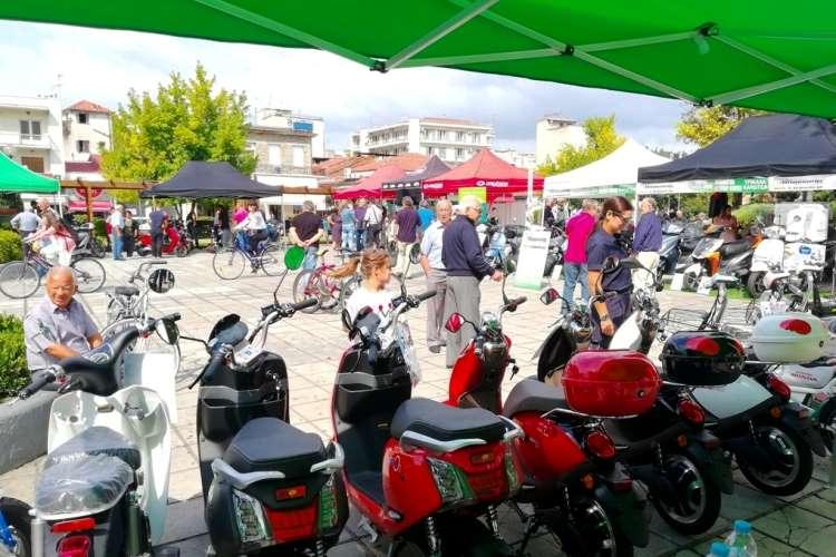 Πράσινη Μετακίνηση χωρίς ρύπους στο Δήμο Τρικάλων Ηλεκτρικά δίκυκλα