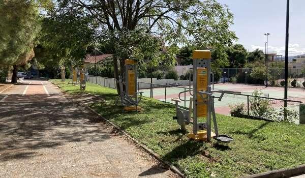 Νέα υπαίθρια γυμναστήρια στο Δήμο Πεντέλης