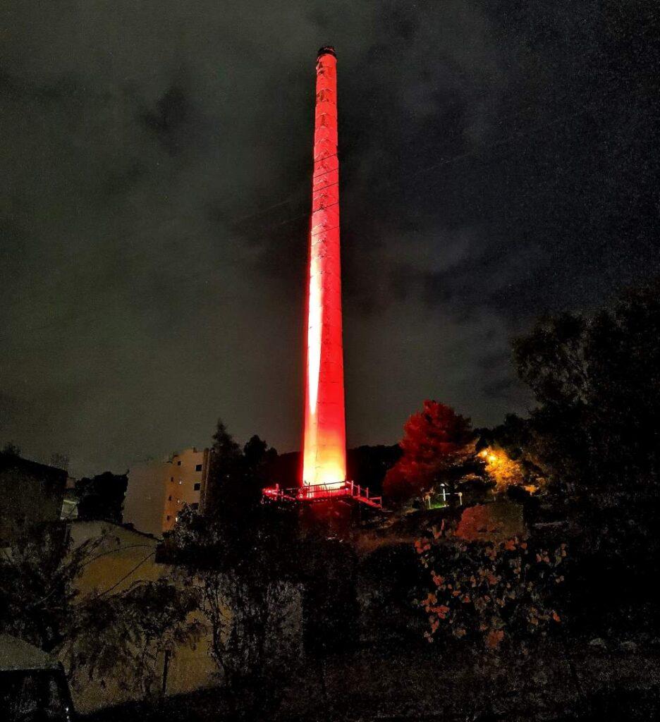 Χριστουγεννιάτικο Φως στο Δήμο Πετρούπολης Φουγάρο από Παλαιό Καμίνι