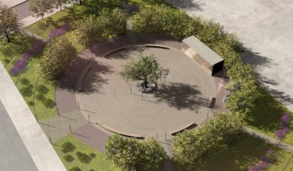 Νέα Πλατεία Αμμουδιάς στο Δήμο Πάργας