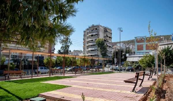 Νέα Πλατεία στην Άνω Νεάπολη του Δήμου Νίκαιας