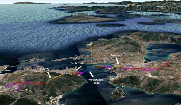 Πέραμα-Σαλαμίνα με υποθαλάσσιο τούνελ