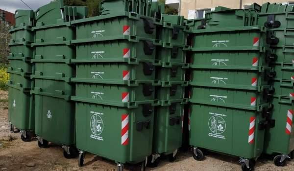 620 νέοι κάδοι απορριμμάτων στον Δήμο Παιανίας
