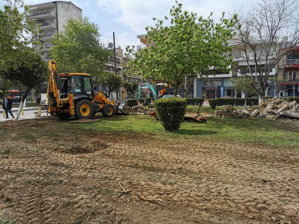 Αναβάθμιση πρασίνου σε γειτονιές του Δήμου Αμπελοκήπων-Μενεμένης στη Θεσσαλονίκη Ξεκίνησαν οι εργασίες