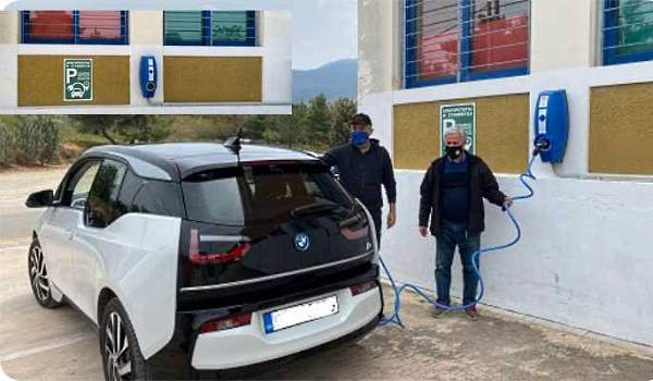 Ηλεκτρικός φορτιστής οχημάτων στον Δήμο Παπάγου-Χολαργού