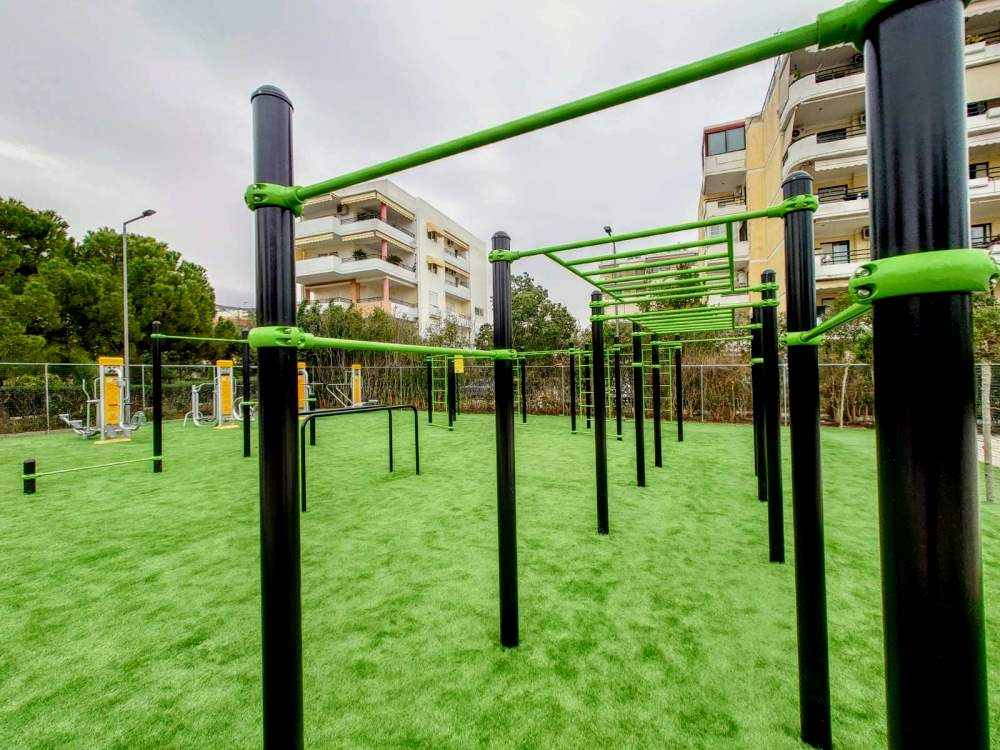 Καινούριο υπαίθριο γυμναστήριο στην Άνω Γλυφάδα (ΦΩΤΟ 2)