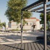 Νέα Πλατεία στα Καλύβια του Δήμου Ελασσόνας (ΦΩΤΟ)