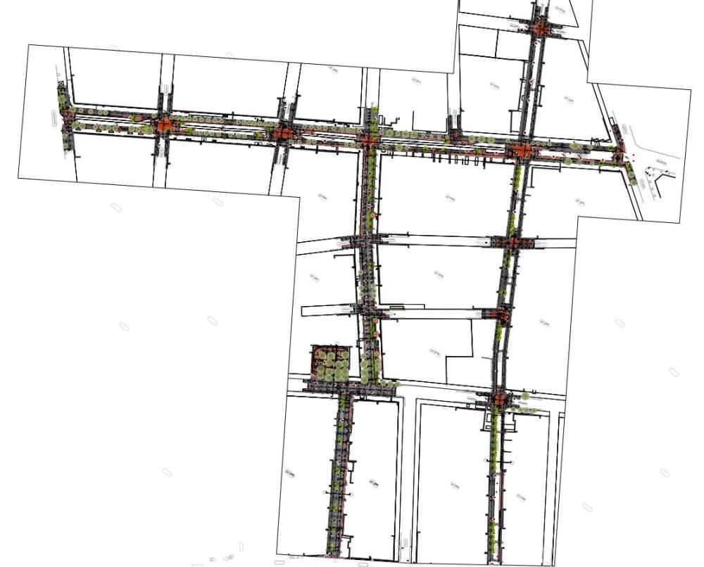 Σημαντικά έργα ανάπλασης στον Δήμο Καλαμαριάς - οριζοντιογραφία έργων