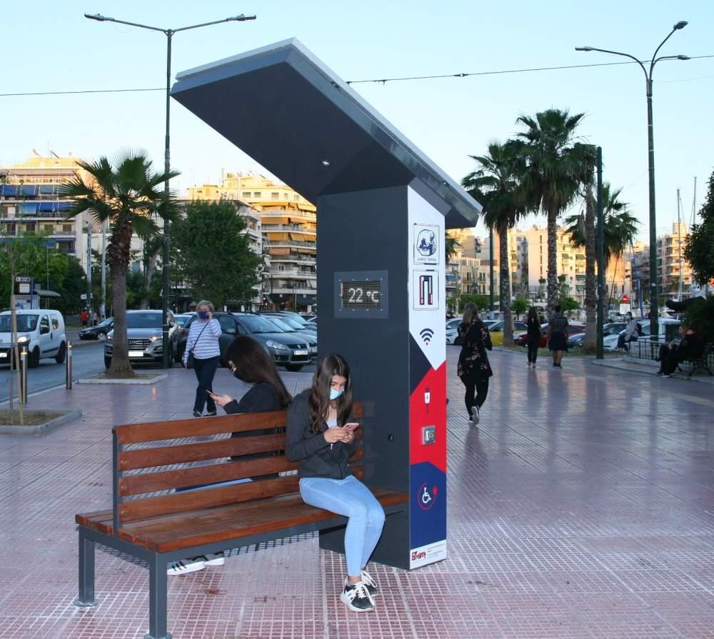 Έξυπνα Ενεργειακά Παγκάκια για ΑμεΑ στον Δήμο Πειραιά