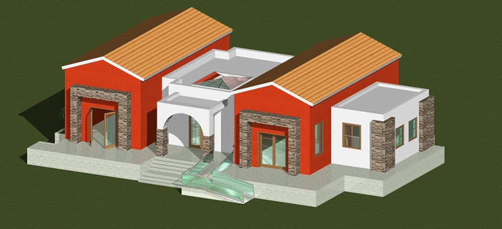 Οικία της Ευρώπης (Δήμος Σπάρτης) Ολοκληρώνονται οι εργασίες ανάπλασης Μακέτα κτιρίου