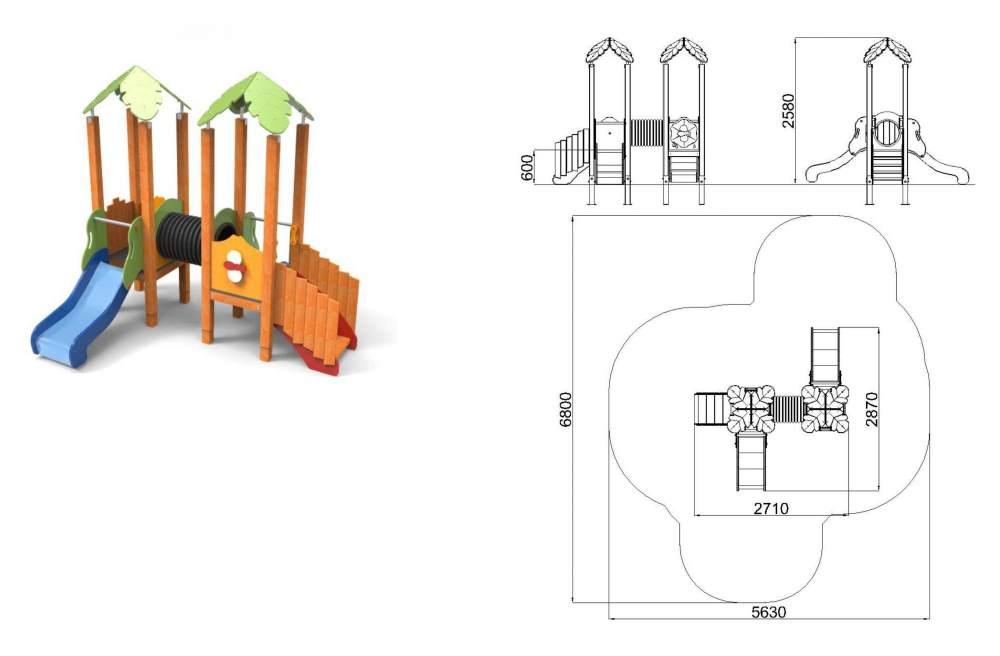 Σύγχρονες παιδικές χαρές για τον Δήμο Ψαρρών Τσουλήθρα