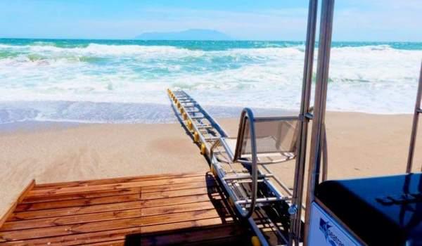 Υποδομές ΑμεΑ για 4 παραλίες στον Δήμο Μαλεβιζίου