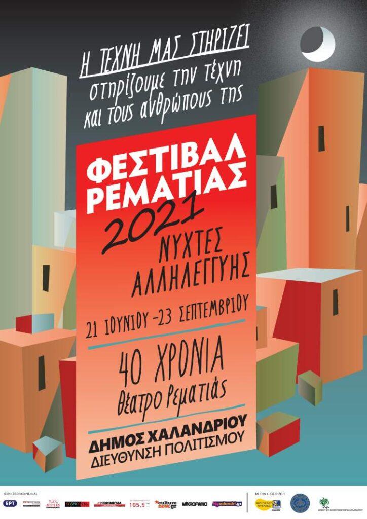 Φεστιβάλ Ρεματιάς 2021 - Η Αφίσα