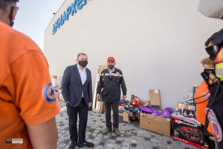Drones και Ηλεκτρονικός εξοπλισμός δασοπροστασίας στον Δήμο Πυλαίας-Χορτιάτη
