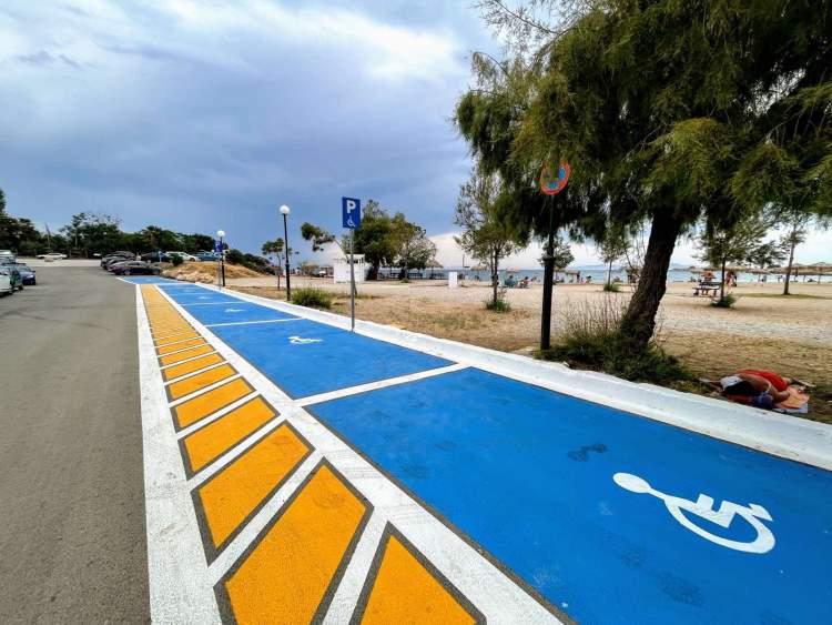 Seatrac Γλυφάδας 1ο σε χρήσεις Πανελλαδικά - Ειδικές και άνετες θέσεις στάθμευσης για οχήματα ΑμεΑ