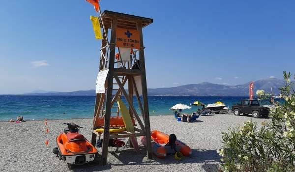 Επτά Ναυαγοσωστικά Παρατηρητήρια εγκαταστάθηκαν στον Δήμο Ωρωπού