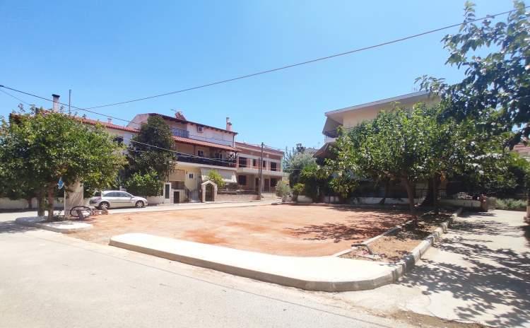 Πάρκα Τσέπης στον Δήμο Παλλήνης - Υπό κατασκευή τα 4 πρώτα (εδώ Μεσολογγίου και Παπαφλέσσα)