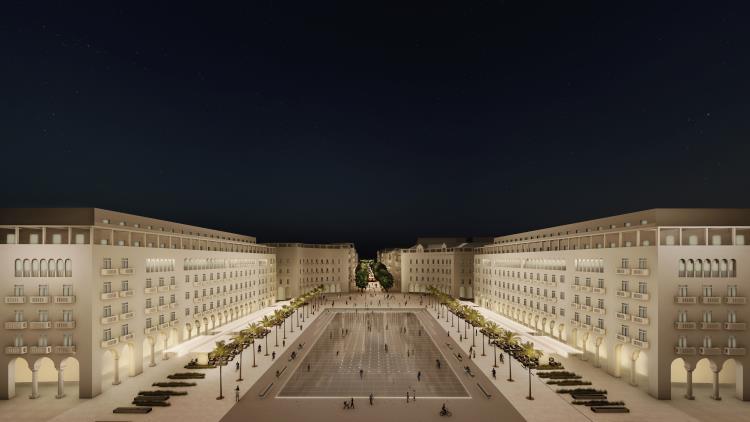 Ολική ανάπλαση για την Πλατεία Αριστοτέλους στην Θεσσαλονίκη (ΦΩΤΟ)