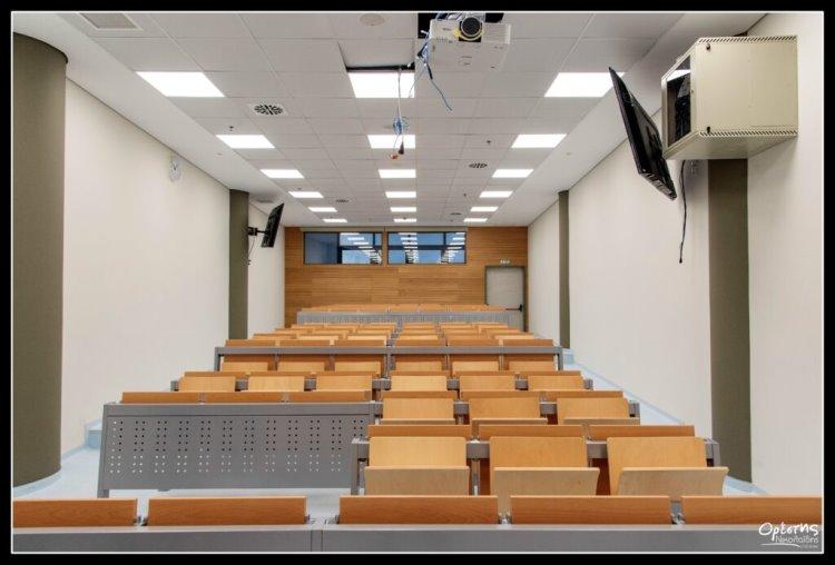 Το Πανεπιστήμιο Πειραιά πηγαίνει Νίκαια Αίθουσα διδασκαλίας