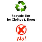 Recycling Clothes not available