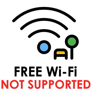 WiFi NOT SUPPORTED